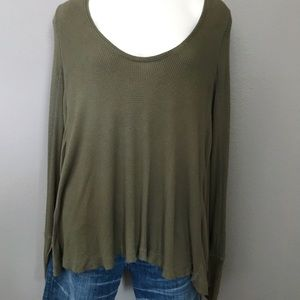 FREE PEOPLE | WE ARE THE FREE | THERMAL | TOP G14